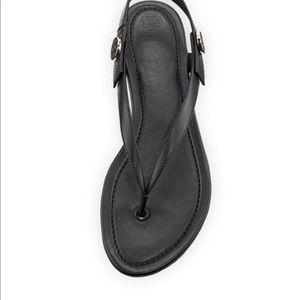 0e30ef67735d Tory Burch Shoes - Tory Burch Minnie Travel Sandal Vegan Leather 7